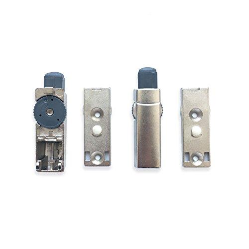 Hettich Anschraubdämpfer Türdämpfer Soft Close Automatik zum Nachrüsten türdämpfer vor allem für Dicke Türen Einliegend 2 Stück