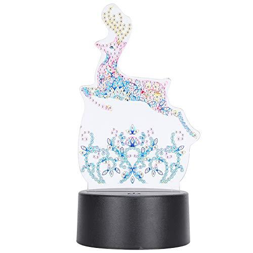 La lámpara de la pintura del diamante de la pintura del diamante del LED hace la luz de la noche del LED para adornar los adornos