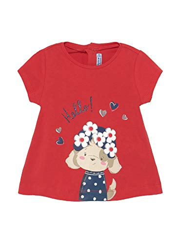 Mayoral, Camiseta para bebé niña - 1088, Rojo