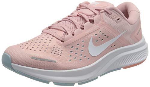Nike W Air Zoom Structure 23, Zapatillas para Correr Mujer, Pink Glaze White Ocean Cube Crimson Bliss, 40 EU