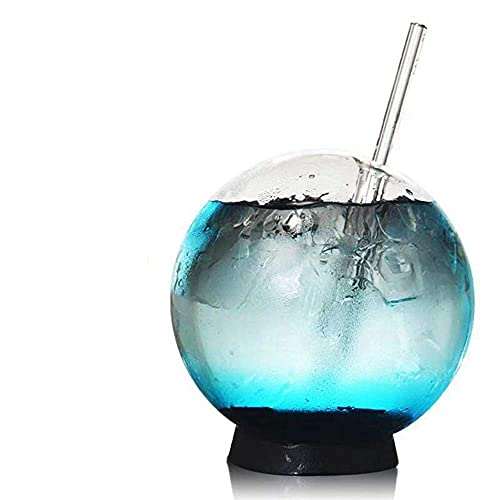 Bicchieri sferici da cocktail sferici da 360 ml, ideali per casa, ristorante, eventi e feste.