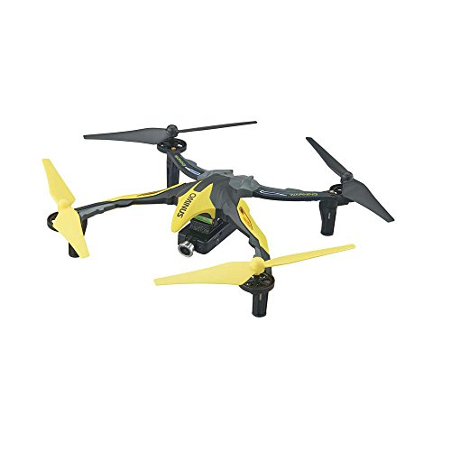 Dromida Ominus First-Person View (FPV) Unmanned Aerial Vehicle (UAV) Quadcopter Ready-to-Fly (RTF) Drone with Radio System, Batteries and USB Charger (Yellow)