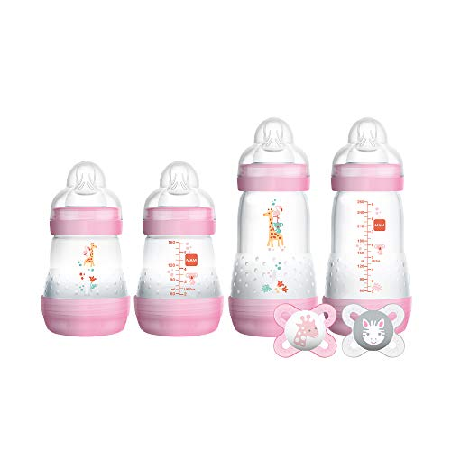 MAM Newborn Essentials 'Feed & Soothe' Set (6-Piece), Easy...