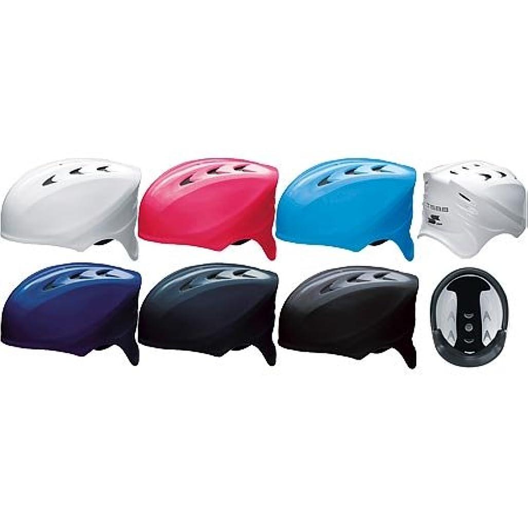 情熱ダンプ寸法SSK 軟式 野球用 捕手用 ヘルメット CH210 ブルー(60) S(53~54cm)