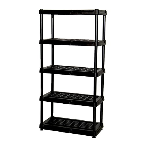 BATHWA 6-Tier Metal Wire Rack, Free Standing Shelving Unit, Adjustable Heavy Duty Storage Shelves for Kitchen Organization, with Leveling Feet and Stainless Side Hooks, Silver