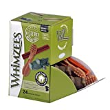 WHIMZEES Dog Treat, Variety Box, Medium, 28 pack