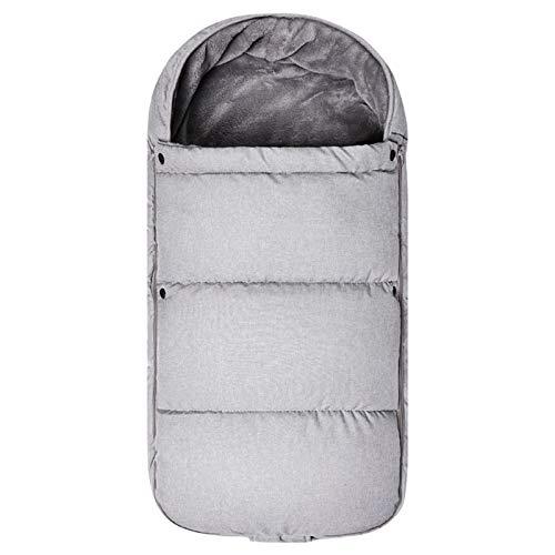 FREEDL Saco De Dormir para Cochecito De Bebé Niños Impermeable Universal Footmuff, 3 En 1 Saco De Dormir del Bebé con Cremallera Bidireccional, Anti-Patada Saco De Dormir para Bebés 0-24 Meses 90cm
