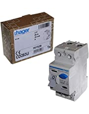 Hager CD283U 80A 30mA A-Type RCD RCCB - Dubbele Pool - AC en DC bescherming