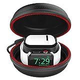 CFX Tragetasche für Apple Watch/AirPods Stand Ladestation Ladegerät Ständer unterstützt Tasche...