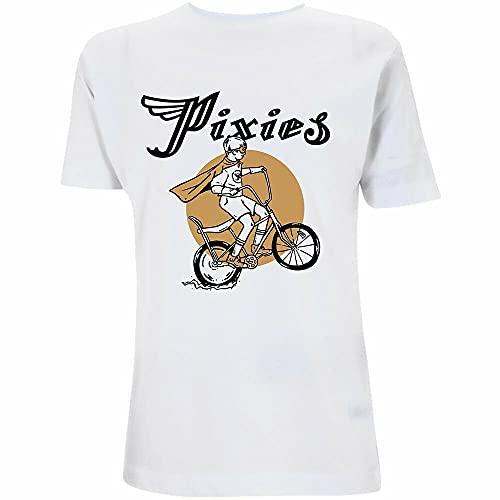 YUQING Pixies Tony Oficial Camiseta para Hombre White XXL