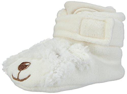 Sterntaler Unisex Baby Krabbel- & Hausschuhe, Beige (Ecru 903), 19/20 EU