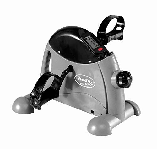BODYCOACH Mini-Bike Heimtrainer kompakter Pedaltrainer für Arm- und Beintraining mit Tragegriff
