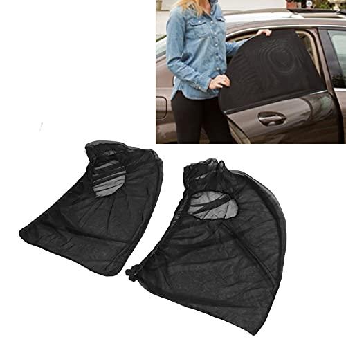 Eulbevoli Parasol para automóvil, Pantalla de automóvil Transpirable para Modelos de automóvil