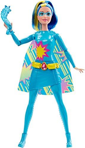 Barbie DHM64 Superheldin Sortiment Wasser, blau