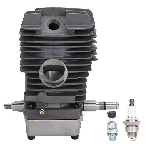 Conjunto de cilindro, aleación de aluminio resistente al desgaste, alta precisión, exquisita artesanía, cilindro de motosierra, MS390 para motosierra MS290 MS310