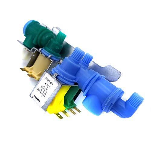 Krooli Refrigerator Water Valve for Electrolux 241734301, 240531101, 2403218A, K-75206, Manufacturer OEM