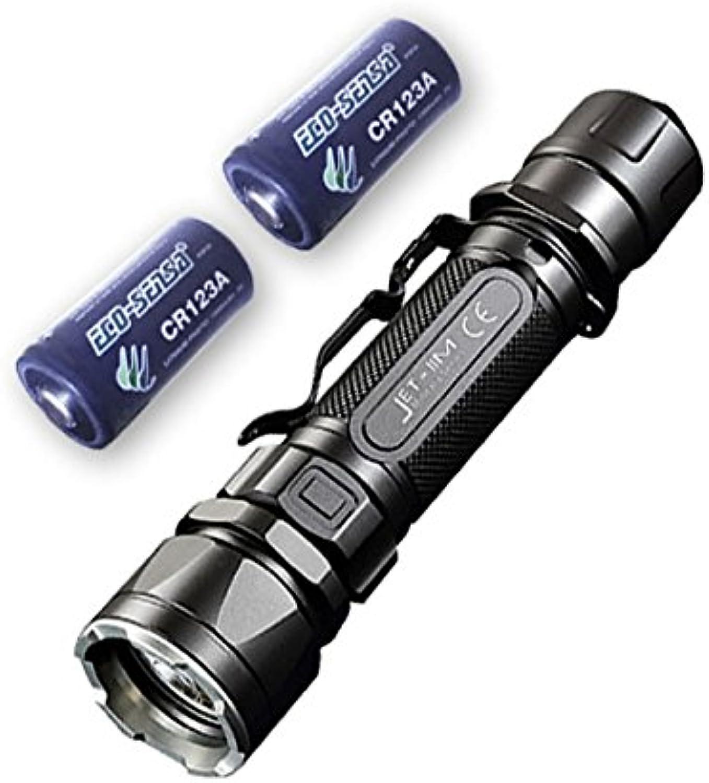 Jetbeam IIM CREE CREE CREE XP-L HI LED Taschenlampe, 1.100 Lumen, mit 2 x Eco-Sensa CR123A Akku, Auswahl an Akkus und Ladegerät, Jetbeam-IIM B01K9YP7G8 | New Listing  32bea1