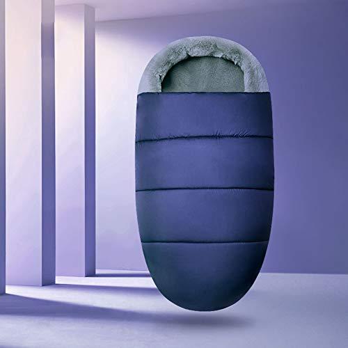 Upgraded Saco de Silla de Paseo Universal Carritos Sacos de Abrigo Invierno Térmica Multifunción Aire Libre Windproof Adecuado para Cochecito Silla de Paseo Sillas de Coche (Azul)
