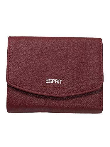 Esprit Accessoires Damen F_foc Clas City Geldbörse, Rot (Garnet Red), 2x9,5x12 cm