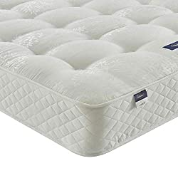 ✓ Specially designed with firmer fillings & traditionally tufted, to give you unique pressure relief for a restful night's sleep every night. ✓ Stay cooler thanks to breathable Silentnight Eco Comfort Fibres, scientifically proven to regulate your te...