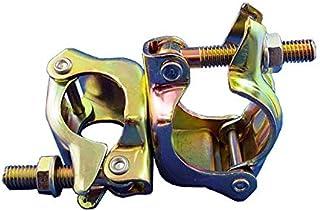 Φ34からΦ38×Φ42.7からΦ48.6クランプ(直交)【30個セット】 8592 特殊径丸パイプ用クランプ(小型径)