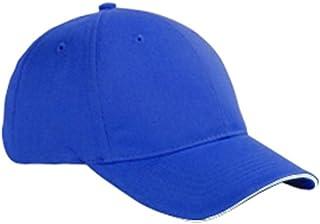 قبعة بيسبول من 6 ألواح من نسيج قطني طويل (BX004) من Big Accessories