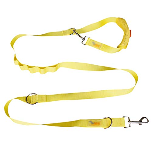 Pet Supplies Traction touw Dubbele kop Traction touw Verstelbare lengte Een sleep twee Multifunctionele Wandelen de hond touw zacht comfortabel solide duurzaam, 200 * 2.5cm, C