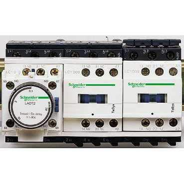 Schneider elec pic - pc7 05 00 - Arrancador estrella triangulo 400v 50/60hz rail