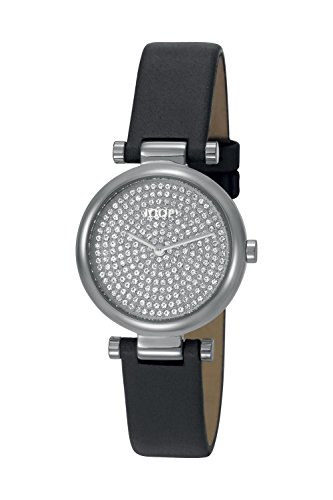 Joop! Damen Analog Quarz Uhr mit Leder Armband JP101722001