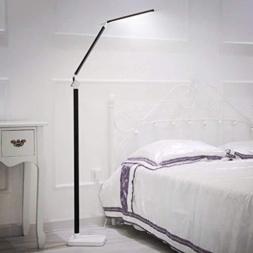 CLJ-LJ Led plegable lámpara de pie, Remote Touch Control, Eye-El cuidado de la lámpara, Sala de lectura creativa de la lámpara de piano vertical, 5 engranaje Brillo Atenuación Eye-Cuidado Vertical luz