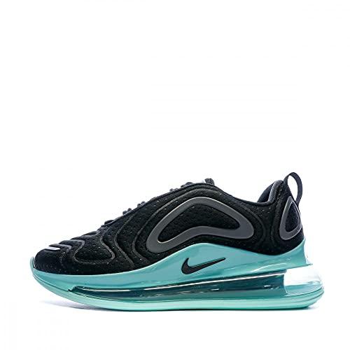 Nike - Scarpe da corsa da donna, nero (Nero/Nero/Verde Aurora), 36.5 EU