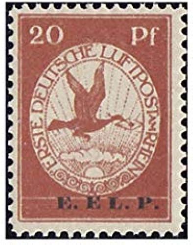 Goldhahn Deutsches Reich Nr. VI postfrisch  20 PFG. Flugpost E.EL.P. Briefmarken für Sammler