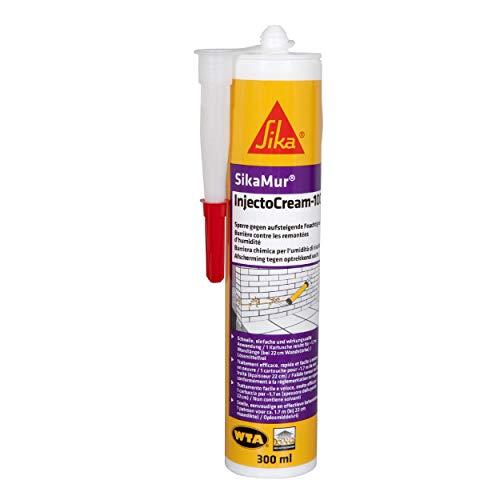 Sika - SikaMur InjectoCream 100, Tratamiento contra el crecimiento del cabello / aumento de la...