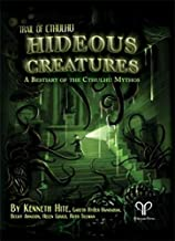 Pelgrane Press Hideous Creatures: A Bestiary of The Cthulhu Mythos