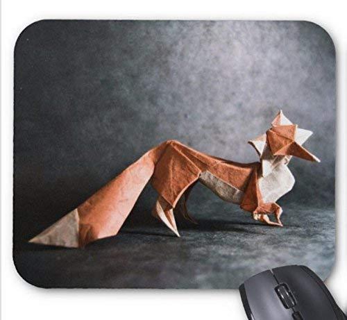 Mausmatte origami schönes mauspad mit fox-print