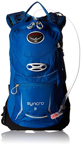 Osprey Packs Syncro 3 Hydration Pack, Meteorite Grey, Medium/Large