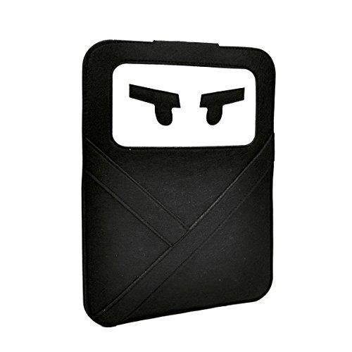 "Unik Case Ninja Black Laptop Sleeve Bag Case Cover for All 13"" 13-Inch Laptop Notebook/MacBook Pro/MacBook Unibody/MacBook Air/Ultrabook/Chromebook"
