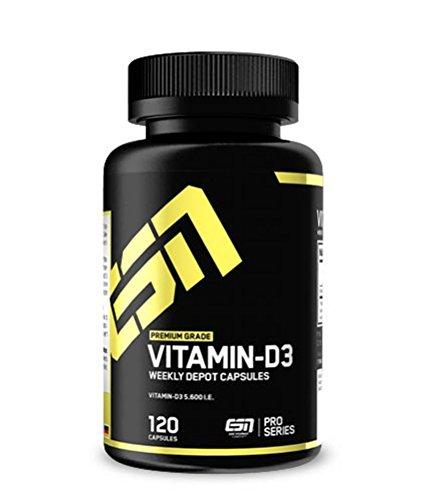 ESN Vitamin D3, 120 Kapseln