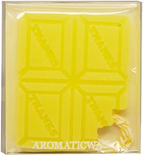 GRASSE TOKYO AROMATICWAXチャーム「板チョコ(THANKS)」(YE) ベルガモット アロマティックワックス グラーストウキョウ