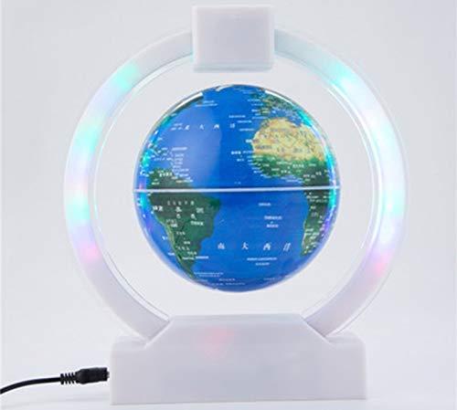 JJDSN wereldbol voor kinderen, scholen, volwassenen en kinderen, 25 cm, speciale decoratie, led-tafellamp