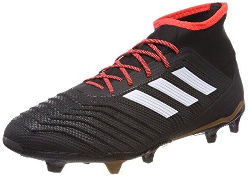 adidas adidas Herren Predator 18.2 FG Fußballschuhe, Schwarz (Core Black/FTWR White/solar Red), 40 EU