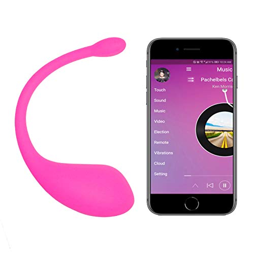 Kegel Balls with APP & Vibration, Bluetooth Remote Wearable Control Massagers