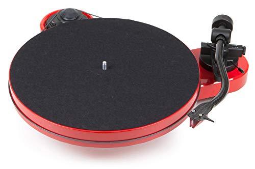 Pro-Ject RPM 1 Carbon Plattenspieler mit Riemenantrieb (inkl. Ortofon 2M Red, Rot)