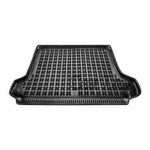 Car Lux AR02601 - Alfombra Cubeta Protector cubre maletero de goma y enrollable PREMIUM para Land Cruiser J15 5 plazas