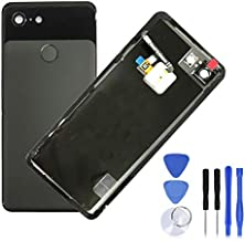 Eaglewireless Replacement Back Glass Rear Panel Back Door Housing Parts for Google Pixel 3 5.5