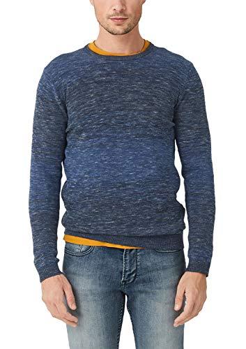 s.Oliver RED Label Herren Pullover aus Softer Qualität Smokey Blue XL