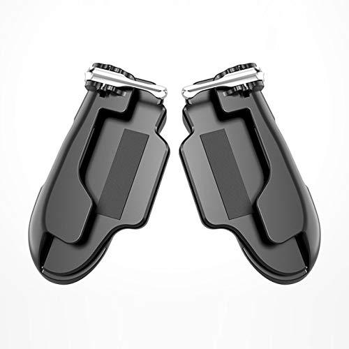 H2 Pubg Contrôleur Mobile pour Tablette Incendie Bouton But Déclencheur clé R1 L1 Tireur pour téléphone Gampads Gaming Shooter (Noir) FRjasnyfall
