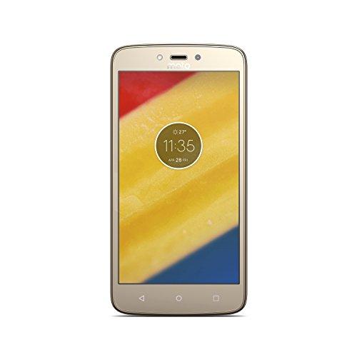 "Smartphone, Motorola, Moto C Plus, XT1726, 8 GB, 5.0"", Ouro"