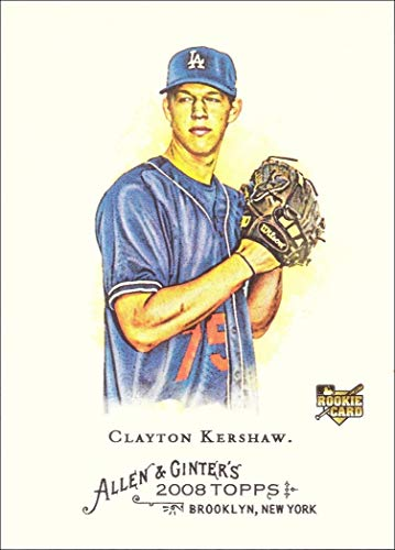 2008 Topps Allen & Ginter Baseball #72 Clayton Kershaw Rookie Card
