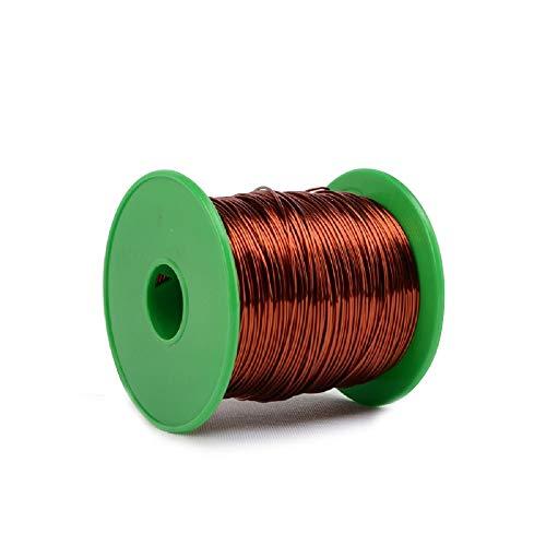 IQQI Alta Temperatura Alambre esmaltado QZY-2-180 Alambre de Cobre Winding 1 kg de Alambre Magneto Alambre esmaltado de reparación de Cables,1.60mm(1kg)
